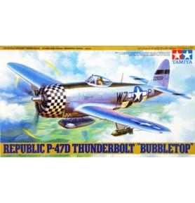 TAMIYA 61090 Myśliwiec Republic P-47D Thunderbolt Bubbletop
