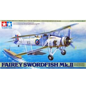 TAMIYA 61099 Bombowo-torpedowo-rozpoznawczy Fairey Swordfish Mk.II