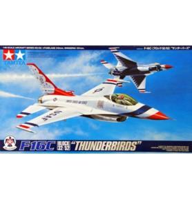 """TAMIYA 61102 Myśliwiec F-16C (Block 32/52) """"Thunderbirds"""""""