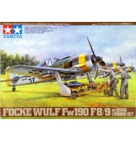 TAMIYA 61104 Myśliwiec Focke-Wulf Fw190 F-8/9 w/Bomb Loading