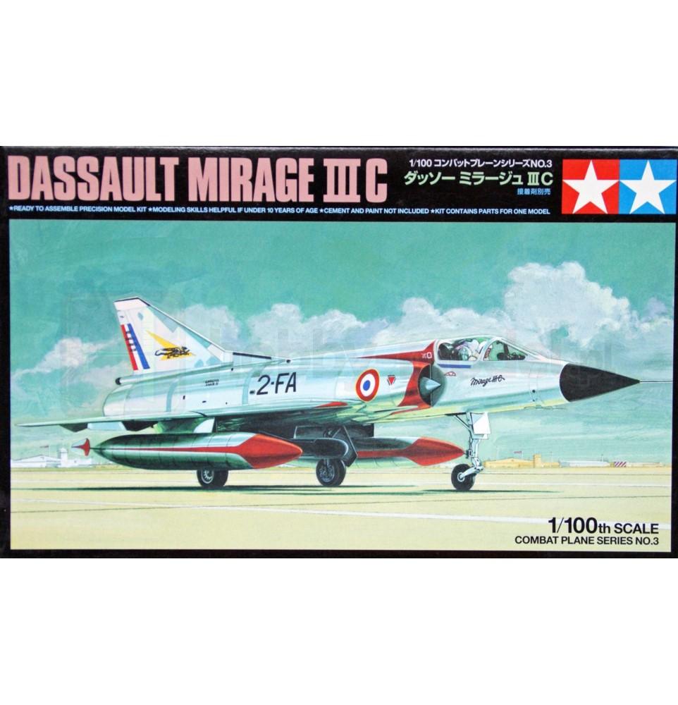 TAMIYA 61603 Myśliwiec Dassault Mirage III C