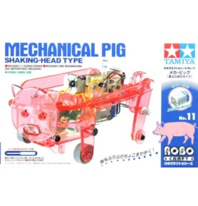 TAMIYA 71111 Edu Set - Mechaniczna świnia