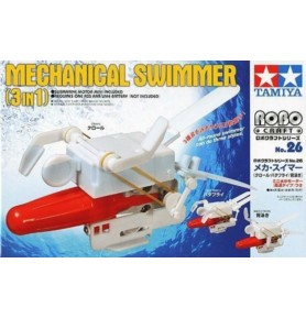 TAMIYA 71126 Edu Set - Mechaniczny pływak