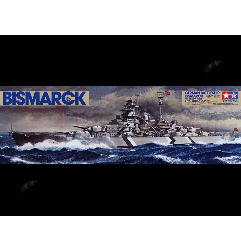 TAMIYA 78013 Pancernik Bismarck