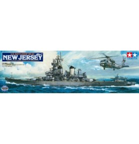TAMIYA 78028 Pancernik BB-62 New Jersey