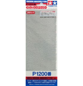 TAMIYA 87058 Papier ścierny P1200