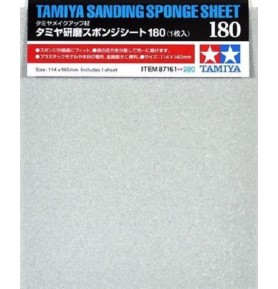 TAMIYA 87161 Papier ścierny 180