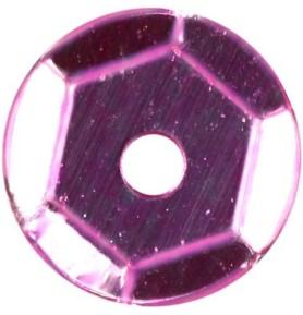Cekiny okrągłe różowe Titanum 14g x 7mm