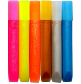 Klej brokatowy Titanum mix kolorów 6 x 13g