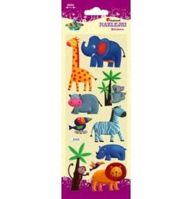 Naklejki dekoracyjne Titanum - zwierzęta