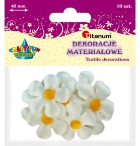 Dekoracje materiałowe Titanum kwiaty
