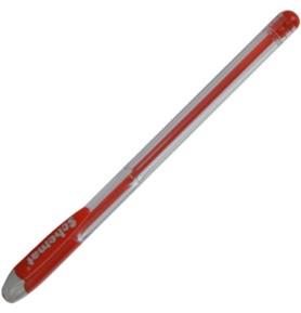 Długopis żelowy z zatyczką Schemat 105 czerwony