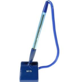 Długopis na sprężynce samoprzylepny M&G niebieski