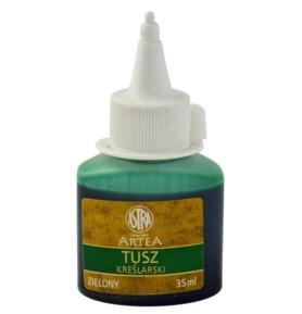 Tusz kreślarski Astra zielony 35ml