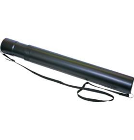 Tuba na rysunki Titanum czarna 45-80 x 6 cm