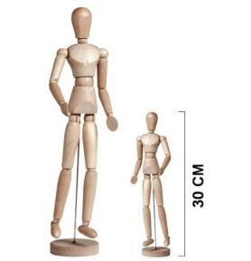 Manekin 30cm kobieta Leniar