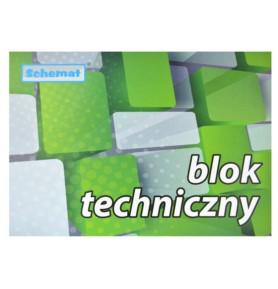 Blok techniczny Schemat A4/10 kartek