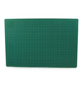 Mata do cięcia zielono-czarna A2 3mm Leniar