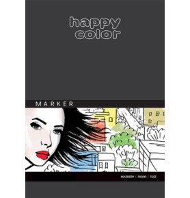 Blok do markerów Happy Color A5/25k 100g