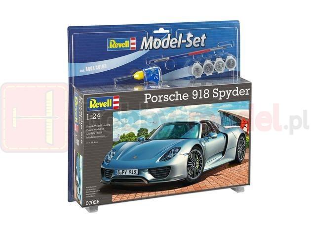 REVELL 67026 Samochód Porsche 918 Spyder (zestaw)