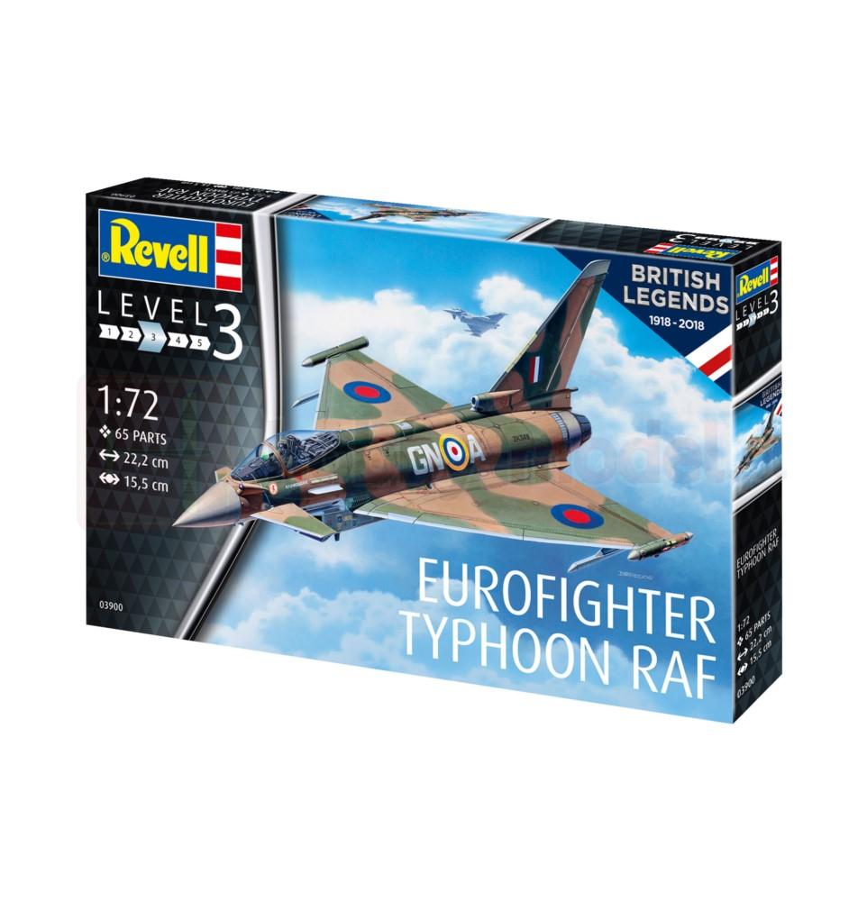 REVELL 03900 Myśliwiec wielozadaniowy Eurofighter Typhoon RAF