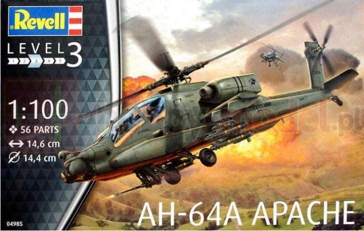 REVELL 04985 Śmigłowiec AH-64A Apache