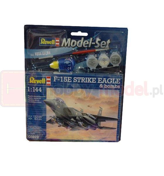 REVELL 63972 F-15E Strike eagle & bombs (zestaw)
