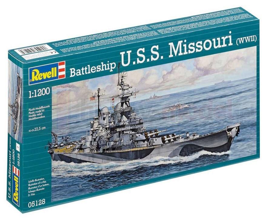 REVELL 05128 Pancernik U.S.S. Missouri