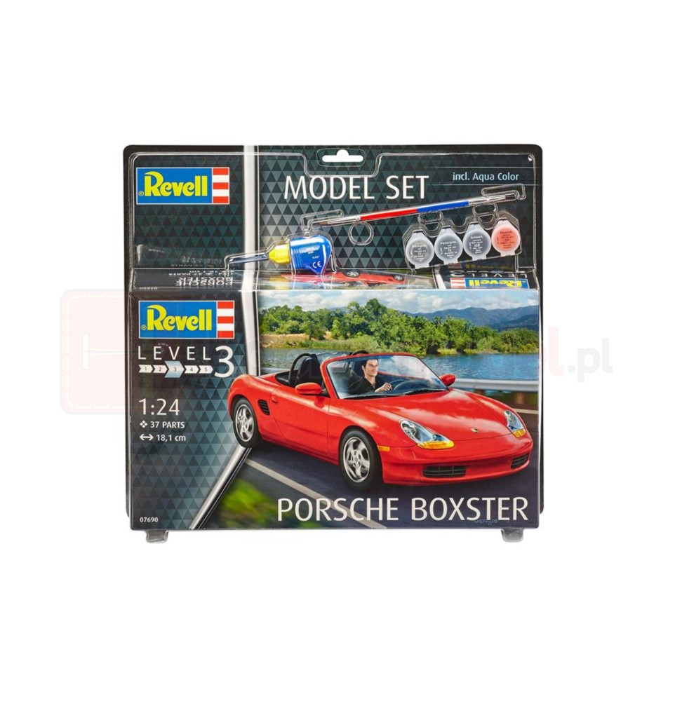 REVELL 67690 Samochód Porsche Boxter 1/24 (zestaw)