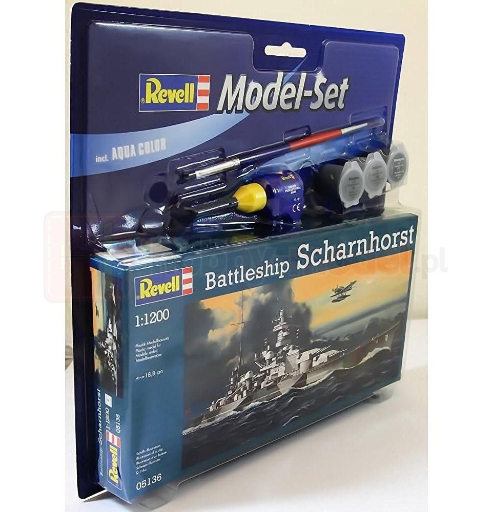 REVELL 65136 Pancernik Scharnhorst (zestaw)