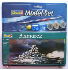 REVELL 65802 Pancernik Bismarck (zestaw)