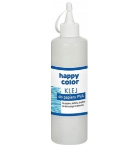 Klej do Papieru PVA Happy Color-Butelka 250g