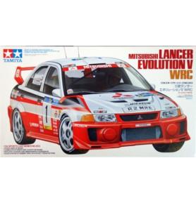 TAMIYA 24203 Samochód Mitsubishi Lancer Evolution V WRC