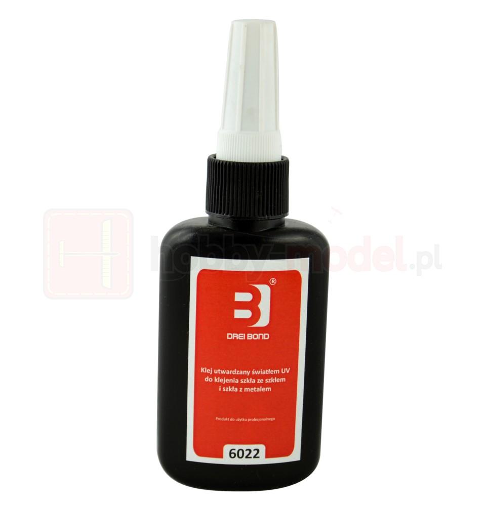 Klej utwardzalny UV DREI BOND 6022 (250ml) | do szkła
