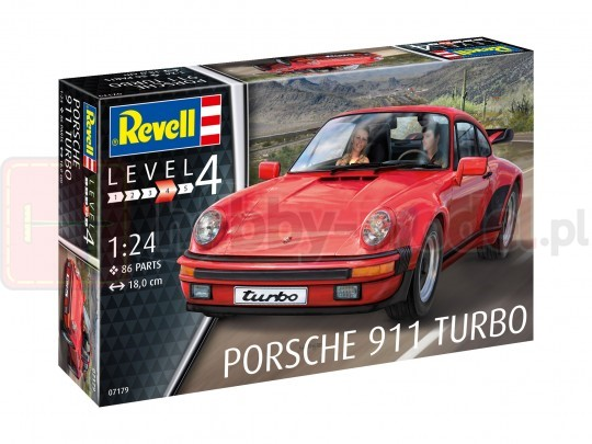 REVELL 07179 Samochód sportowy Porsche 911 Turbo