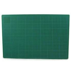 Mata do cięcia zielono-czarna A4 3mm Leniar