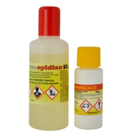 Żywica epoksydowa Epidian 53 500g + utwardzacz Z1 60g
