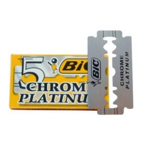 Żyletki BIC Chrome Platinium (5 sztuk)
