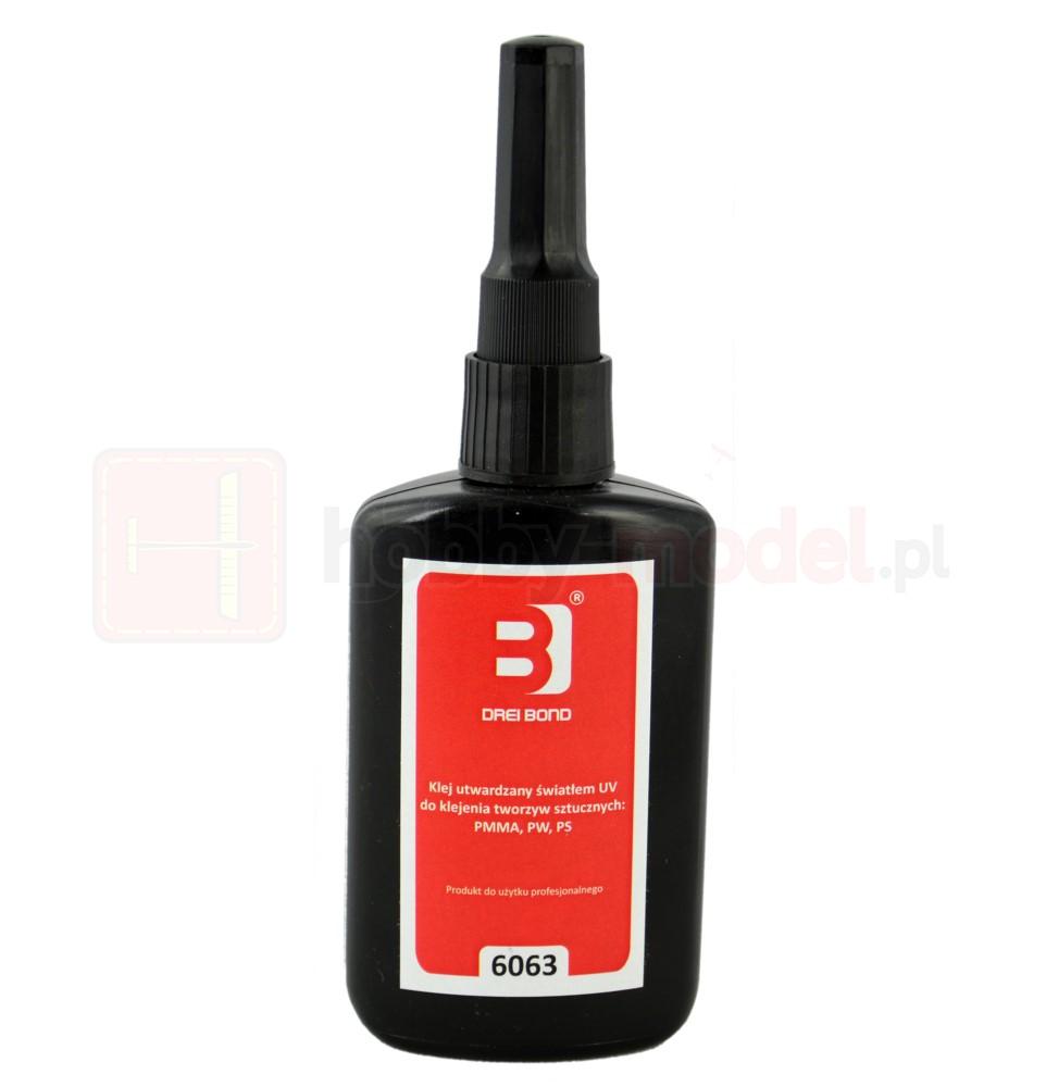 Klej utwardzalny UV DREI BOND 6063 (50ml) | do plastiku