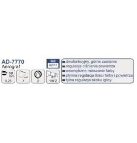 ADLER AD-7770 Aerograf - dysza 0,25 mm