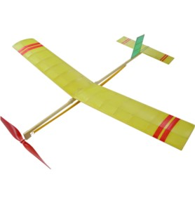 Samolot z napędem gumowym JUNIOR
