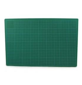 Mata do cięcia zielono-czarna A0 3mm Leniar