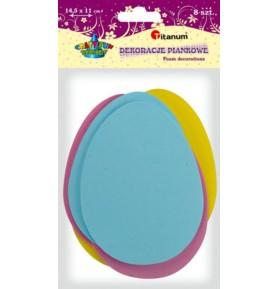 Dekoracje piankowe Titanum jajko