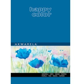 Blok akwarelowy Happy Color A3/10k 250g
