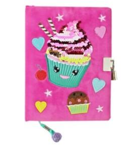 Pamiętnik z kłódką pluszak Muffin