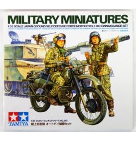 TAMIYA 35245 Akcesoria Zestaw rozpoznawczy motocykla JGSDF