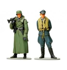 Tamiya 89641 Figurki pilota Luftwaffe i żołnierza Wehrmachtu