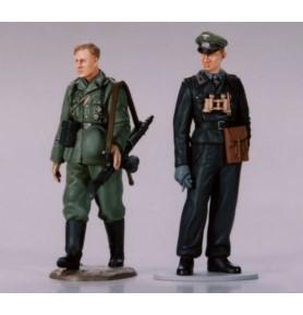 Tamiya 89621 Czołgista i żołnierz piechoty Wehrmachtu