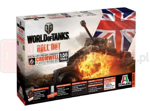 ITALERI 56504 Czołg World Of Tanks: CROMWELL