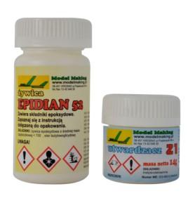 Żywica epoksydowa Epidian 52 500g + utwardzacz Z1 70g